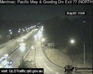Webcam at Pacific Motorway and Springbrook Exit Merrimac