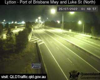 Port of Brisbane Motorway & Luke Street