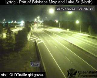 Port of Brisbane Motorway & Luke Street, QLD (North), QLD