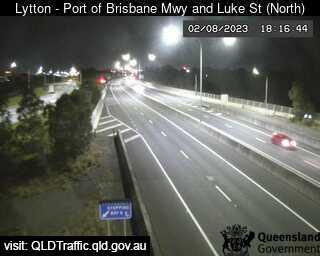 Port of Brisbane Motorway & Luke Street, QLD (North), QLD
