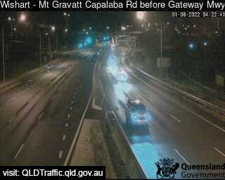 Mt Gravatt Capalaba Road before Gateway Motorway