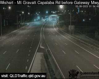 Mt Gravatt Capalaba Road before Gateway Motorway