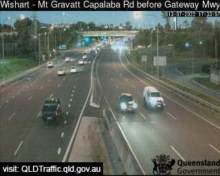 Mt Gravatt Capalaba Road before Gateway Motorway, QLD (East), QLD