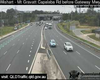 Mt Gravatt Capalaba Road before Gateway Motorway, QLD