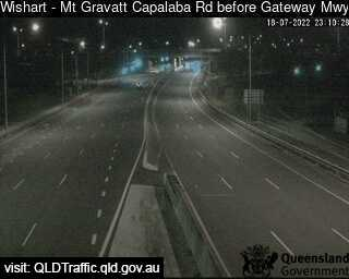 Mt Gravatt Capalaba Road before Gateway Motorway, QLD