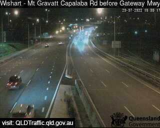 Mt Gravatt Capalaba Road before Gateway Motorway, QLD (East), QLD