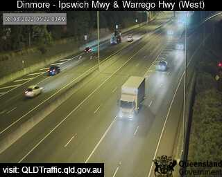 Webcam at Ipswich Motorway and Warrego Highway Dinmore