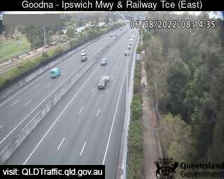 Webcam at Ipswich Mwy and Railway Tce Goodna