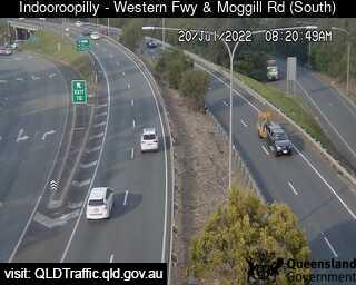 Western Freeway & Moggill Road
