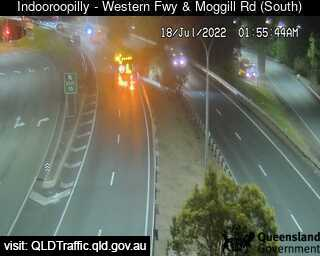 Western Freeway & Moggill Road, QLD