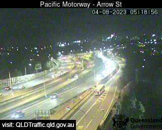 Webcam at Pacific Motorway - Arrow Street Woolloongabba