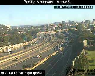 Pacific Motorway & Arrow Street