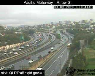 Pacific Motorway & Arrow Street