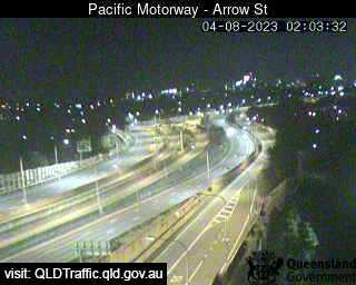 Pacific Motorway & Arrow Street Woolloongabba, QLD (Northwest), QLD