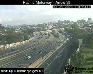 Pacific Motorway & Arrow Street Woolloongabba