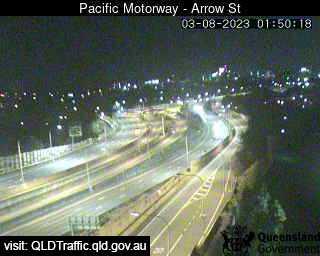 Pacific Motorway & Arrow Street Woolloongabba, QLD