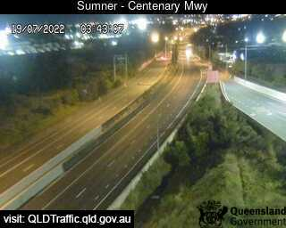 Webcam at Centenary Motorway - Ipswich Motorway Darra
