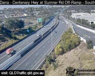 Centenary Motorway at Sumner Road Off-Ramp, QLD