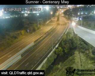 Centenary Motorway at Sumner Road Off-Ramp
