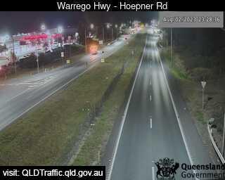 Warrego Highway near Hoepner Road, QLD