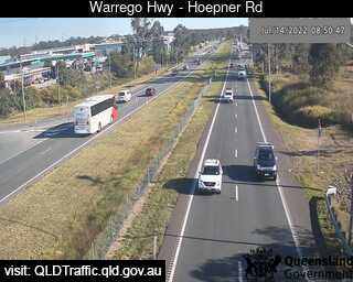 Warrego Highway near Hoepner Road, QLD