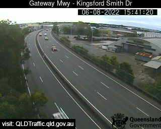 Webcam at Gateway Motorway - Kingsford Smith Drive Eagle Farm
