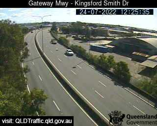 Gateway Motorway & Kingsford Smith Drive, QLD