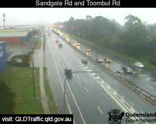 Webcam at Sandgate Road and Toombul Road Northgate