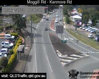 Webcam at Moggill Road - Kenmore Road Kenmore