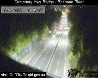 Webcam at Centenary Highway Bridge - Brisbane River Fig Tree Pocket