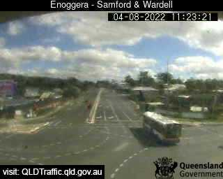 Webcam at Samford Road and Wardell Street Enoggera