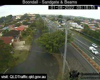 Webcam at Sandgate Road and Beams Road Deagon