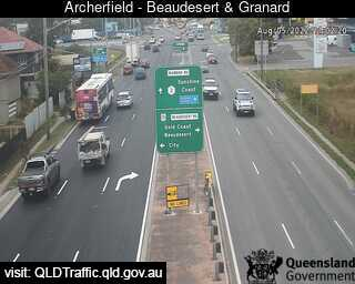 Webcam at Beaudesert Road and Granard Road Archerfield