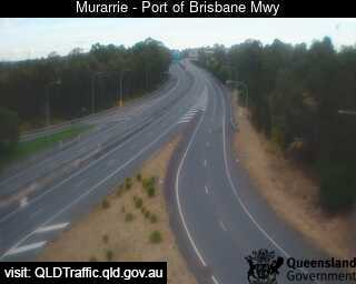 Webcam at Port of Brisbane Motorway Murarrie