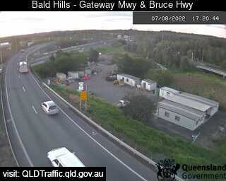 Webcam at Gateway Motorway and Bruce Highway Bald Hills
