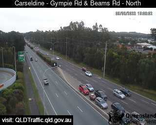 Gympie Road and Beams Road