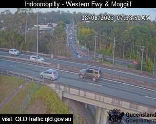 Western Freeway & Moggill Road, QLD (West), QLD