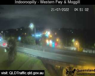 Western Freeway & Moggill Road, QLD