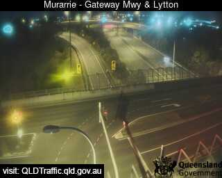 Webcam at Gateway Motorway and Lytton Murarrie
