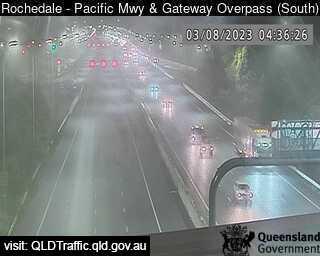 Pacific Motorway & Gateway Motorway Overpass, QLD