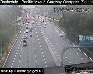 Pacific Motorway & Gateway Motorway Overpass, QLD (Southeast), QLD