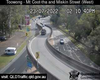 Webcam at Mt Cootha Street and Miskin Street Toowong