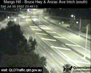 Webcam at Bruce Highway and Anzac Avenue Mango Hill