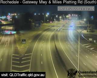 Gateway Motorway & Miles Platting Road, QLD (South), QLD