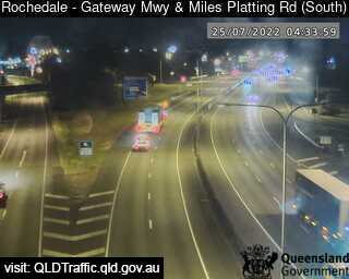 Gateway Motorway & Miles Platting Road, QLD