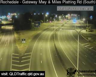 Gateway Motorway & Miles Platting Road, QLD