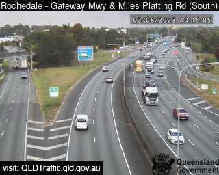Gateway Motorway & Miles Platting Road, QLD (South), QLD
