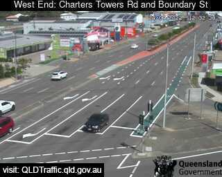 Charters Towers Road & Boundary Street, QLD