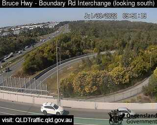 Webcam at Bruce Highway at Boundary Road Narangba