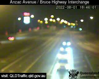 Webcam at Anzac Avenue / Bruce Highway Interchange North Lakes